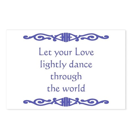 Lightly Dance Postcards (Package of 8)