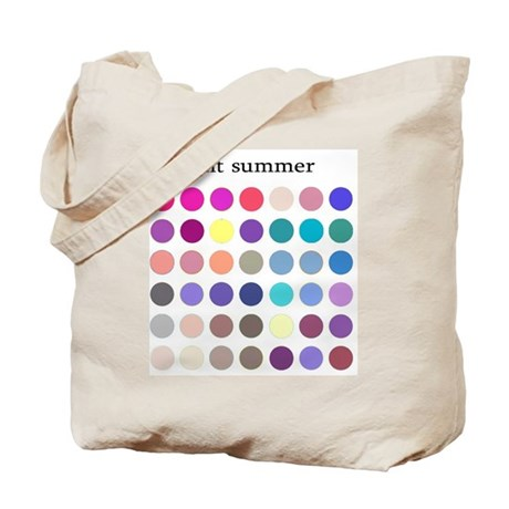 color analysis Tote Bag light summer