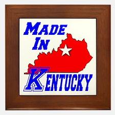 Made In Kentucky Framed Tile