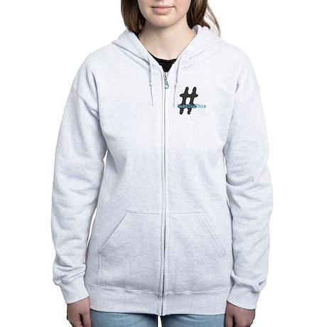 HashTagThis Women's Zip Hoodie