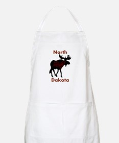 Customized Plain Moose Apron