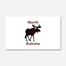 Customized Plain Moose Car Magnet 20 x 12