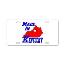 Made In Kentucky Aluminum License Plate