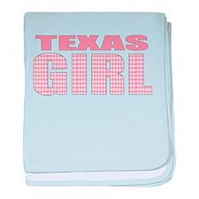 Texas Girl baby blanket