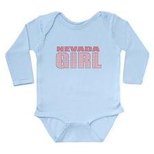 Nevada Girl Long Sleeve Infant Bodysuit