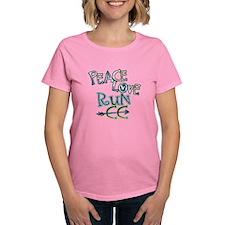 Peace Love Run CC Tee