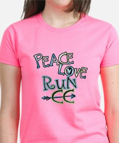 Peace Love Run CC Tee