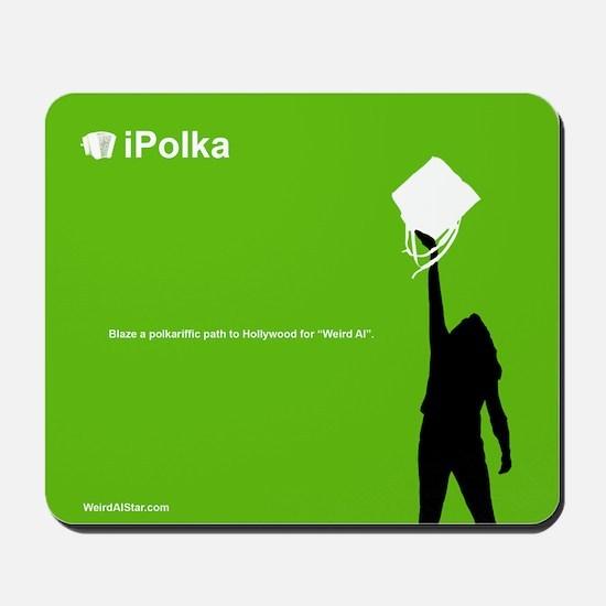iPolka Parody Mousepad (Green Version)