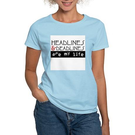 Headlines & Deadlines Women's Light T-Shirt