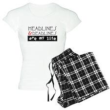 Headlines & Deadlines Pajamas