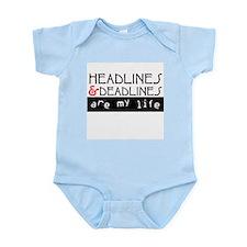 Headlines & Deadlines Infant Bodysuit