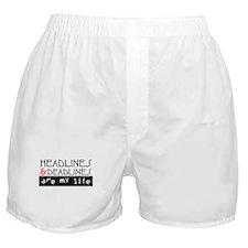 Headlines & Deadlines Boxer Shorts