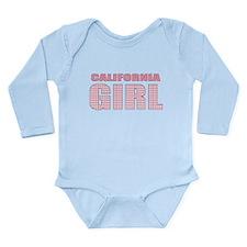 California Girl Long Sleeve Infant Bodysuit