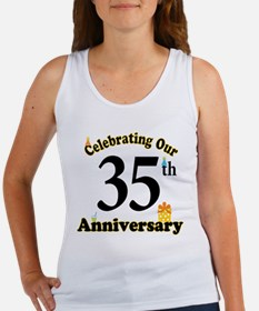 35th Anniversary Party Gift Women's Tank Top