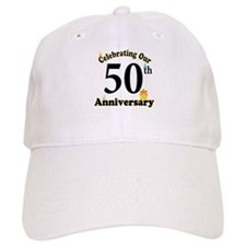 50th Anniversary Party Gift Baseball Baseball Cap