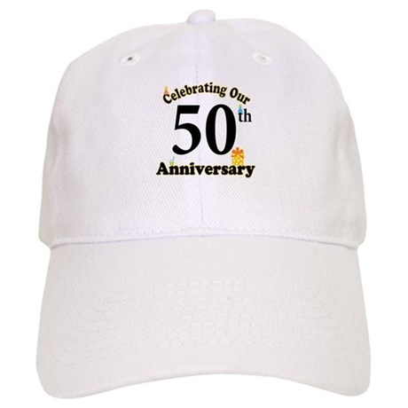 50th Anniversary Party Gift Cap