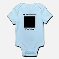 Your Picture Your Text Infant Bodysuit