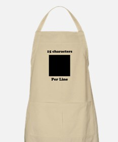 Your Picture Your Text Apron