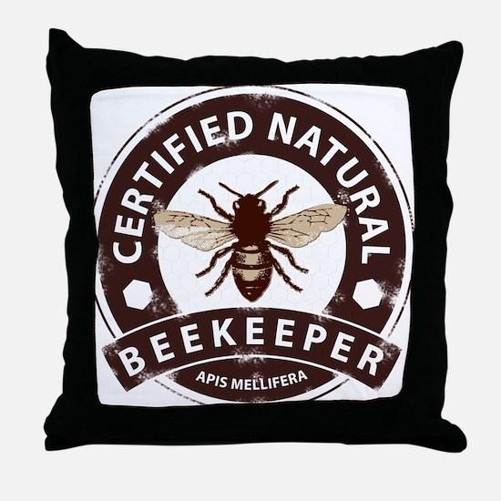 Cute Bees Throw Pillow