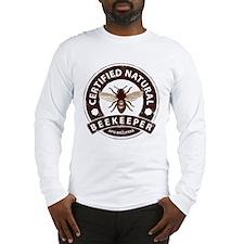 Certified Natural Beekeeper Long Sleeve T-Shirt