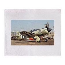 Plane 5 Throw Blanket