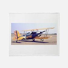 Bi-Plane 3 Throw Blanket