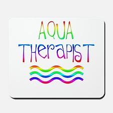 Aqua Therapy (Tie-Dye) Mousepad