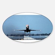 Big Plane Sticker (Oval)