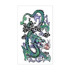 Oriental Dragon Vinyl Decal