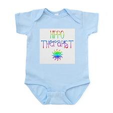 Hippo Therapist (Tie-Dye) Infant Creeper