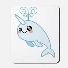 Narwhal Cutie Mousepad