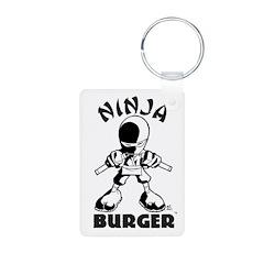 Ninja Burger Keychains