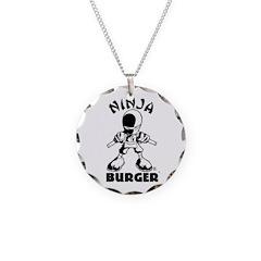 Ninja Burger Necklace