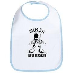 Ninja Burger Bib