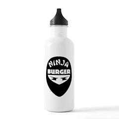 Ninja Burger Water Bottle