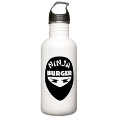 Ninja Burger Water Bottle