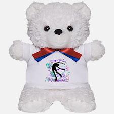 Figure Skater Spin Teddy Bear