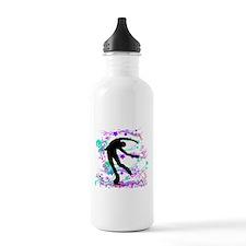 Figure Skater Spin Water Bottle