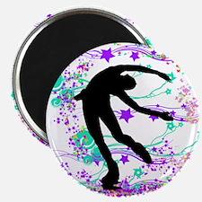 """Figure Skater Spin 2.25"""" Magnet (10 pack)"""