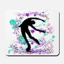 Figure Skater Spin Mousepad