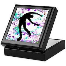 Figure Skater Spin Keepsake Box