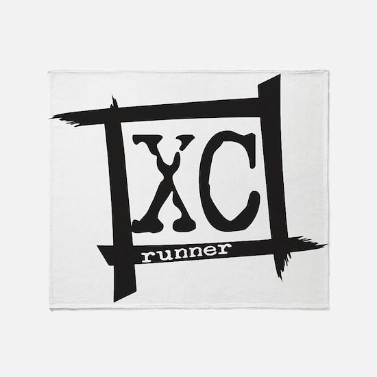 XC Runner Throw Blanket