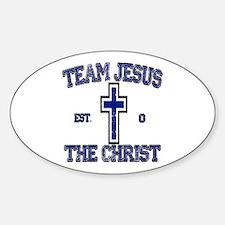 Unique Team jesus christ Decal