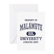 Malamute Greeting Card