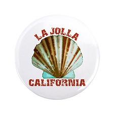 """La Jolla California 3.5"""" Button"""