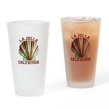 La Jolla California Drinking Glass