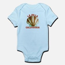 La Jolla California Infant Bodysuit