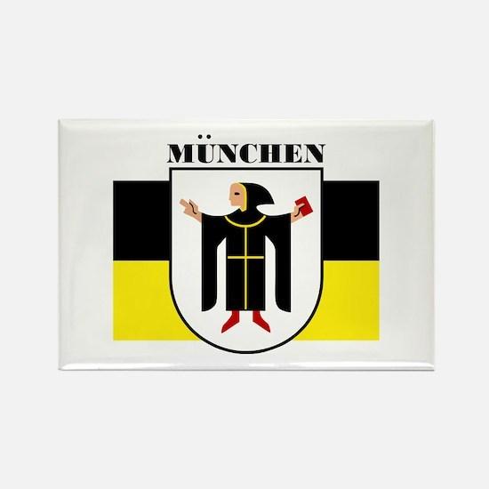 Munchen/Munich Rectangle Magnet