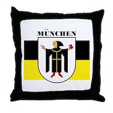 Munchen/Munich Throw Pillow