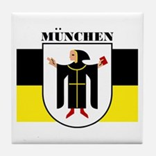 Munchen/Munich Tile Coaster